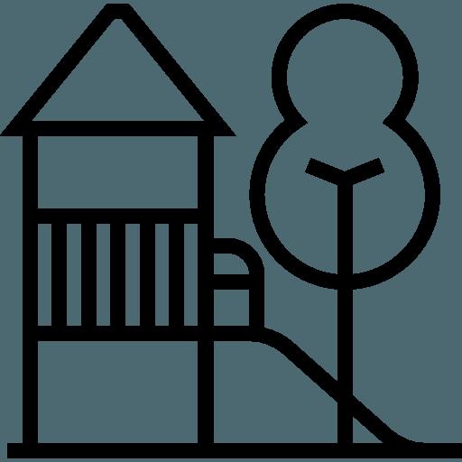 Playground infantil e juvenil